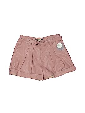Eva Franco Faux Leather Shorts Size 2