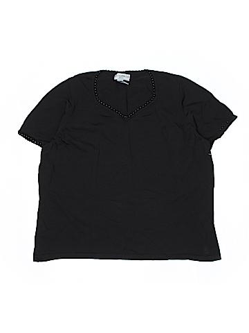 Sag Harbor Short Sleeve Top Size 2X (Plus)