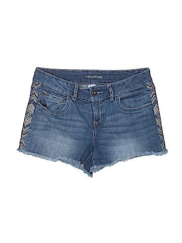 Maurices Denim Shorts Size 7