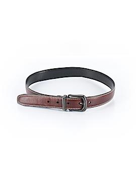 Dillard's Leather Belt 26 Waist
