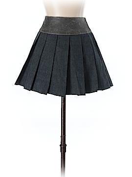 Fray Denim Skirt Size 4