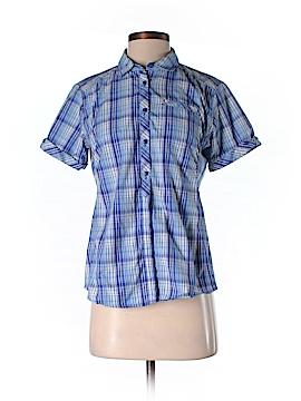 Mountain Hardwear Short Sleeve Button-Down Shirt Size 6
