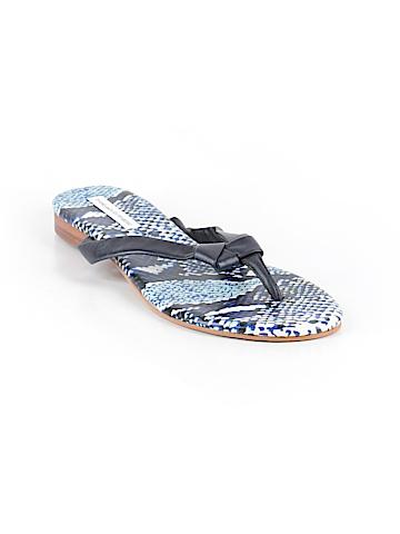 Diane von Furstenberg Flip Flops Size 9 1/2
