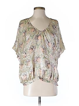 Beyond Vintage Short Sleeve Blouse Size S
