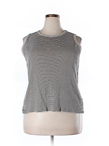 Lauren by Ralph Lauren Sleeveless T-Shirt Size 2X (Plus)