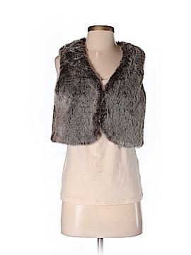Steve Madden Faux Fur Vest Size S