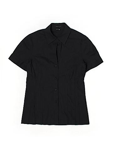Thera Shoe Short Sleeve Button-Down Shirt Size S