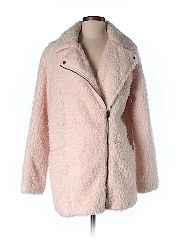 Hollister Faux Fur Jacket Size S