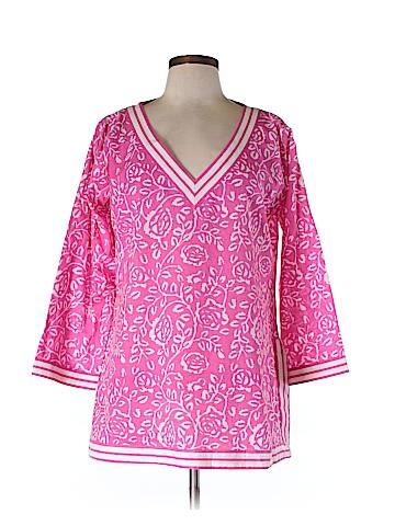 Gretchen Scott Designs 3/4 Sleeve Top Size L