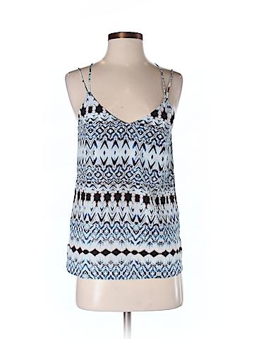 Bella Luxx Women Sleeveless Silk Top Size S