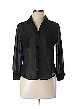 Audrey Ann Long Sleeve Blouse Size L