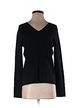 Casual Corner Silk Pullover Sweater Size M
