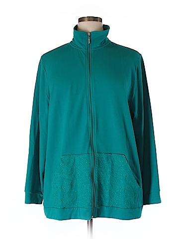 Liz & Me Track Jacket Size 1X (Plus)