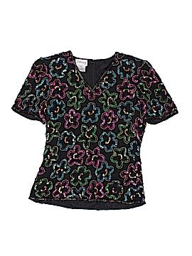 Stenay Short Sleeve Silk Top Size S