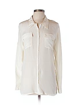 Gold Hawk Long Sleeve Blouse Size L