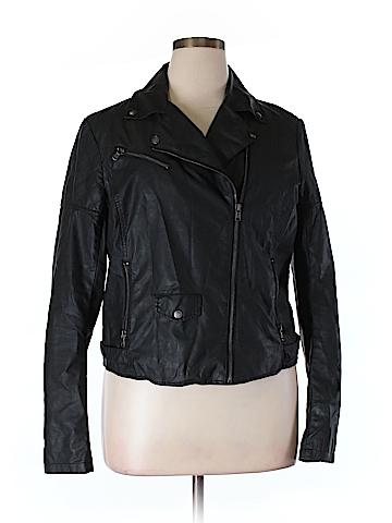 Levi's Faux Leather Jacket Size XL