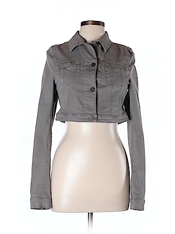 Superfine Women Denim Jacket Size L