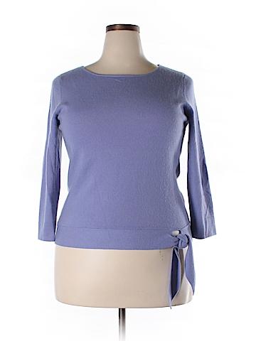 Casual Corner Cashmere Pullover Sweater Size XL