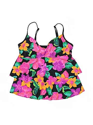 Beach Diva Swimsuit Top Size 14