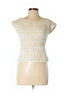 Dolce Cabo Short Sleeve Blouse Size L