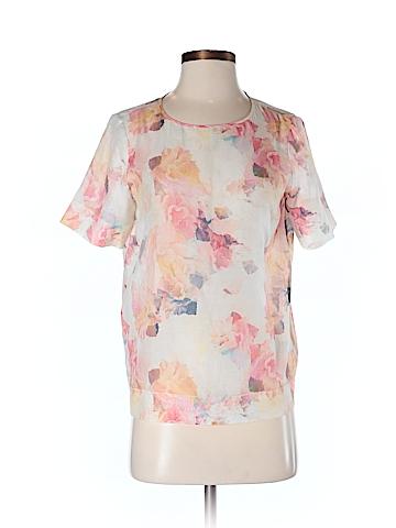 Rebecca Taylor Women Short Sleeve Blouse Size 4
