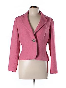 AK Anne Klein Wool Blazer Size 12 (Petite)