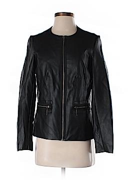 Dana Buchman Faux Leather Jacket Size S