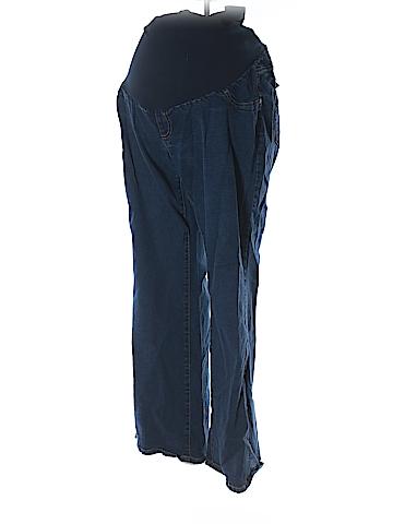 Indigo Blue Jeans Size 2X (Maternity)