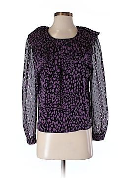 Corey Lynn Calter Long Sleeve Silk Top Size 2