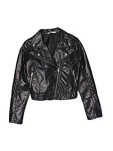 H&M Faux Leather Jacket Size 12 - 13