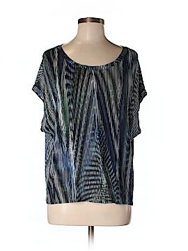 Halston Heritage Short Sleeve Top Size M
