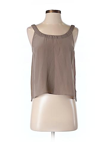 Broadway & Broome Women Sleeveless Silk Top Size S