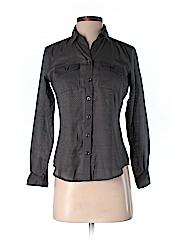 BCBGMAXAZRIA Women Long Sleeve Button-Down Shirt Size XS (Petite)