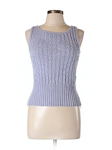 Adrienne Vittadini Women Cashmere Pullover Sweater Size L