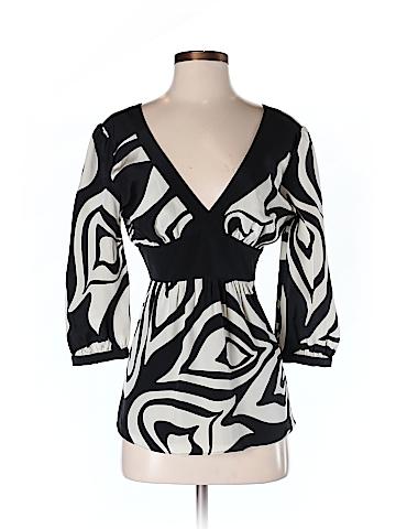 Tibi Women 3/4 Sleeve Blouse Size 2