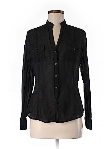 White House Black Market Long Sleeve Blouse Size 4