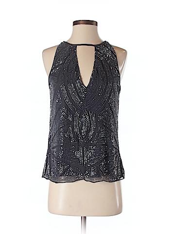 Parker Women Sleeveless Silk Top Size XS