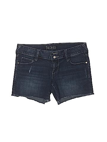 Decree Denim Shorts Size 7