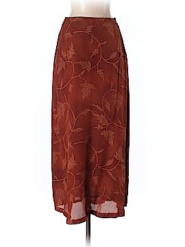 Jones New York Silk Skirt Size 4 (Petite)