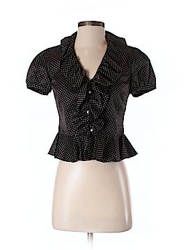 Ralph Lauren Short Sleeve Blouse Size P (Petite)