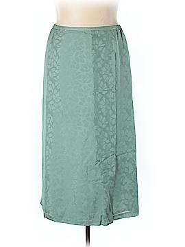 Valerie by Valerie Stevens Silk Skirt Size 18 (Plus)