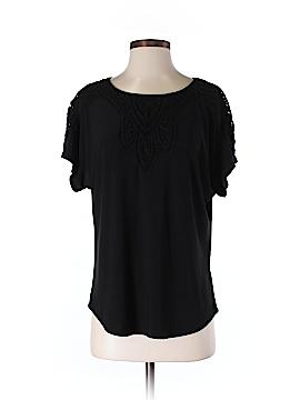 Roz & Ali Short Sleeve Blouse Size S