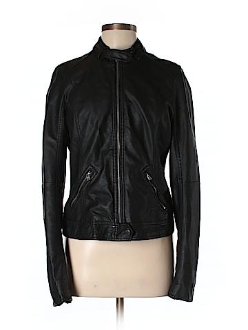 Hollister Faux Leather Jacket Size L