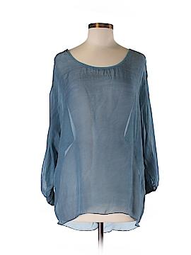 Tempo Paris 3/4 Sleeve Blouse Size M