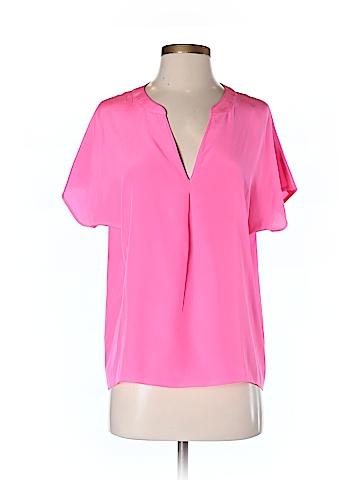 Amanda Uprichard Short Sleeve Blouse Size S