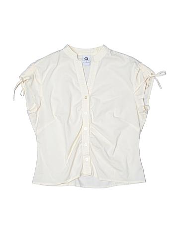 Ellemenno Short Sleeve Button-Down Shirt Size M