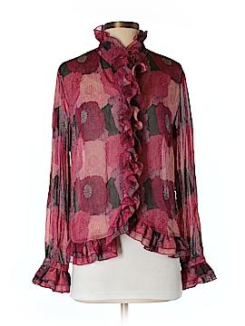 Claudia Ev Long Sleeve Blouse Size 4