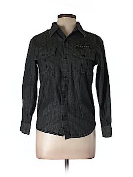 Sean John Long Sleeve Button-Down Shirt Size L