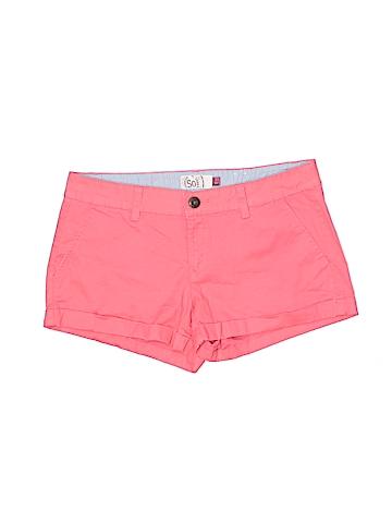 SO Women Khaki Shorts Size 8