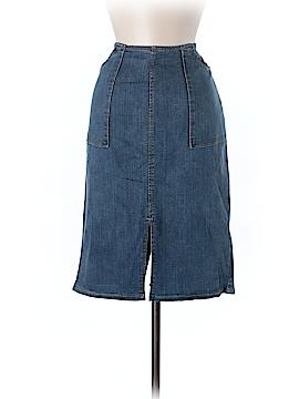 Who What Wear Denim Skirt Size 8